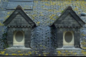 Slate Roof and Windows