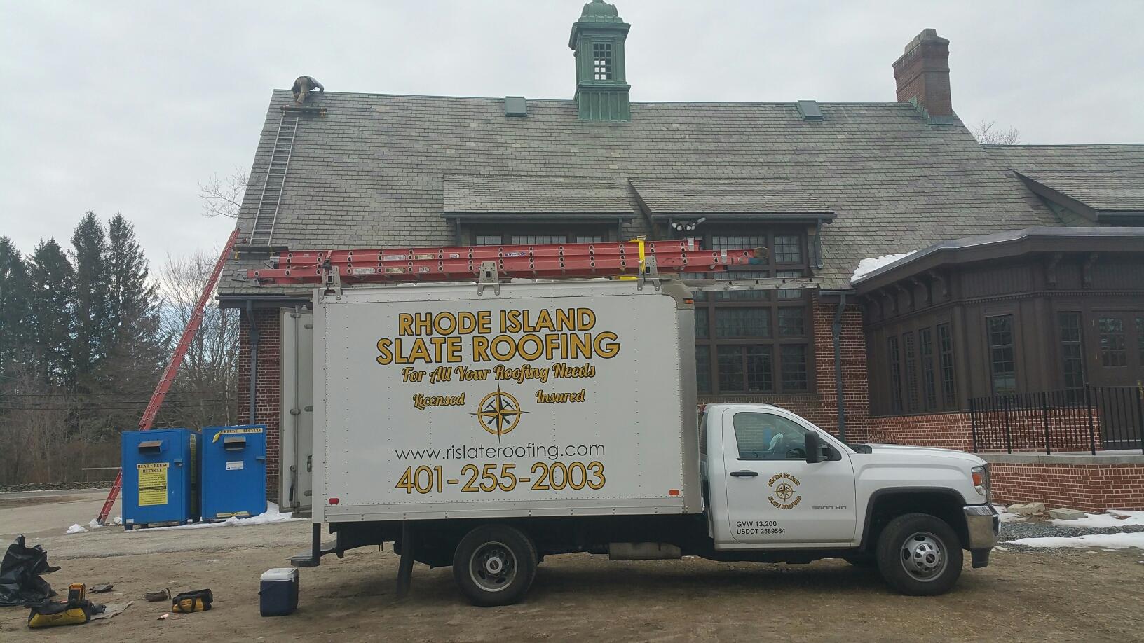 Slate Roof Repair In North Smithfield Ri Rhode Island