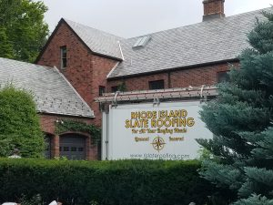 rhode island slate roofing job