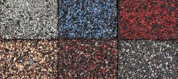 Multi-Color Asphalt Roof