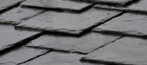 Textured Slate Roof